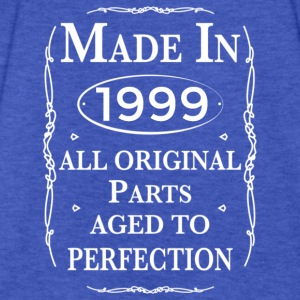made in1999 birthday Hoodies - Fitted Cotton/Poly T-Shirt by Next Level