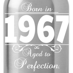 Born in Age 1967 birthday T-Shirts - Water Bottle