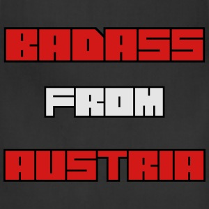 badass from austria T-Shirts - Adjustable Apron