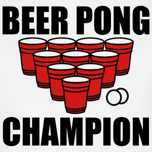 Beer Pong Champion T-Shirts - Adjustable Apron