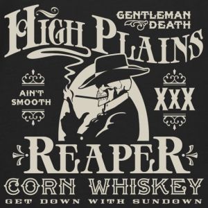 High Plains Reaper Corn Whiskey - Men's Premium Long Sleeve T-Shirt