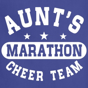 Aunts Marathon Cheer Team Baby & Toddler Shirts - Adjustable Apron
