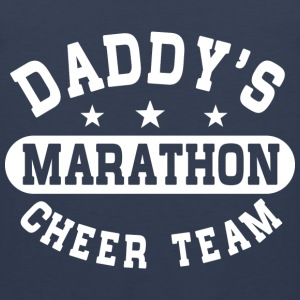 Dad's Marathon Cheer Team Kids' Shirts - Men's Premium Tank