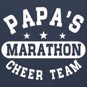 Papas Marathon Cheer Team Kids' Shirts - Men's Premium Tank