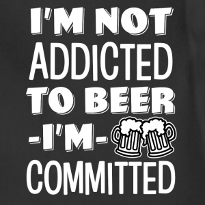 I'm not addicted to beer, I'm Committed funny  - Adjustable Apron