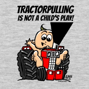 tractorpulling is not a child's play! Bags & backpacks - Men's Premium Long Sleeve T-Shirt
