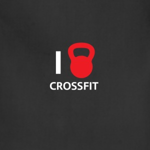 i love crossfit - Adjustable Apron