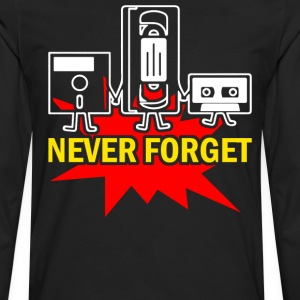 Never Forget - Men's Premium Long Sleeve T-Shirt