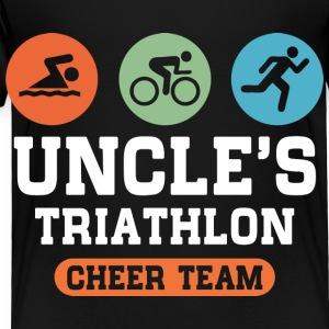 Triathlon Uncle Kids' Shirts - Toddler Premium T-Shirt
