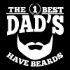 The Best Dads Have Beards T-Shirts - Men's Premium T-Shirt