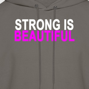 strong_is_beautiful_ - Men's Hoodie