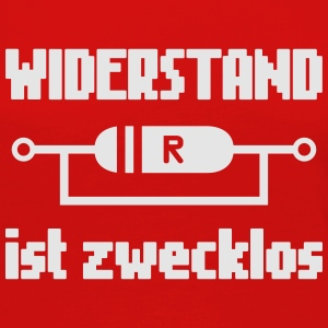 Widerstand ist Zweklos Kids' Shirts - Women's Premium Long Sleeve T-Shirt