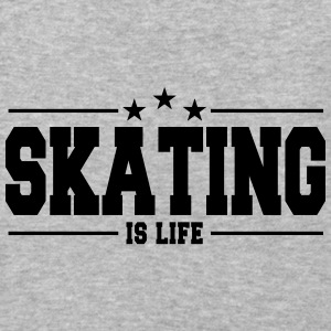 skating is life 1 Hoodies - Baseball T-Shirt