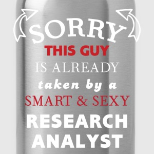 Research Analyst - Sorry, this guy is already take - Water Bottle