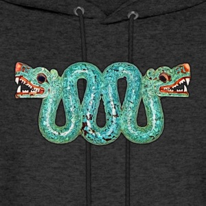 Aztec double-headed serpent - Men's Hoodie