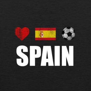 Spain Football Spaniard Soccer T-shirt - Men's Premium Tank