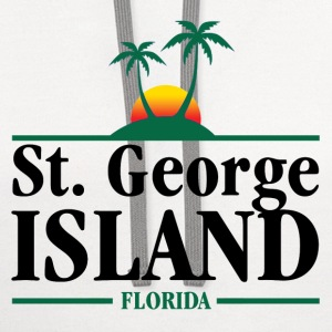 St. George Island T-Shirts - Contrast Hoodie