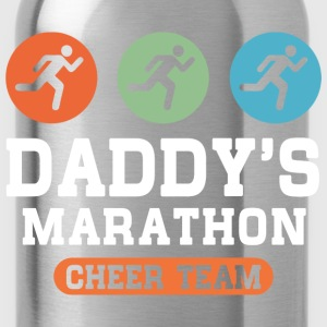 Dad's Marathon Cheer Team Kids' Shirts - Water Bottle