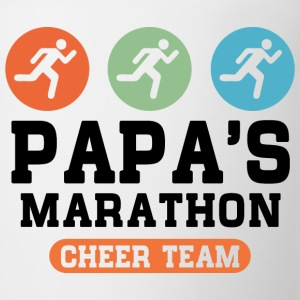 Papas Marathon Cheer Team Kids' Shirts - Coffee/Tea Mug