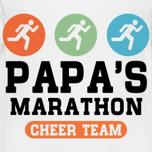 Papas Marathon Cheer Team Kids' Shirts - Toddler Premium T-Shirt