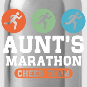 Aunts Marathon Cheer Team Kids' Shirts - Water Bottle