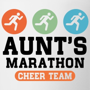 Aunts Marathon Cheer Team Kids' Shirts - Coffee/Tea Mug