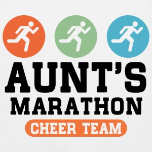 Aunts Marathon Cheer Team Kids' Shirts - Men's Premium Tank