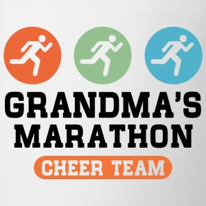 marathon grandma Kids' Shirts - Coffee/Tea Mug