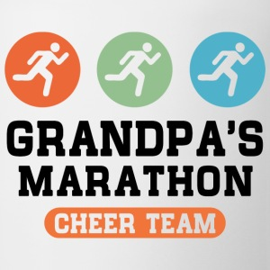 Marathon Grandpa Kids' Shirts - Coffee/Tea Mug
