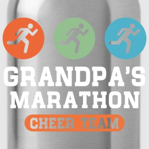 Marathon Grandpa Kids' Shirts - Water Bottle