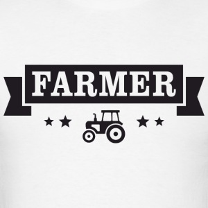 Farmer Badge Long Sleeve Shirts - Men's T-Shirt