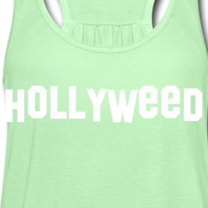 Hollyweed T-shirt - Women's Flowy Tank Top by Bella