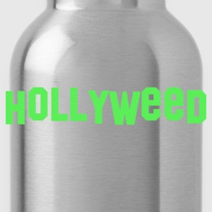 Hollyweed T-shirt - Water Bottle