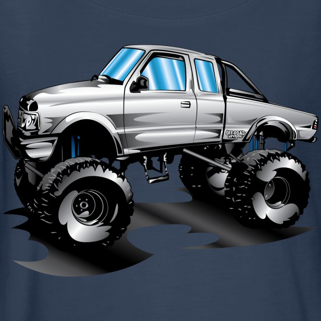Monster Lifted Ford Truck