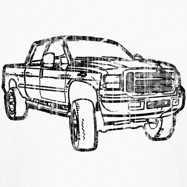 Ford F250 Truck Shirt