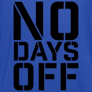 No Days Off t-shirt - Women's Flowy Tank Top by Bella