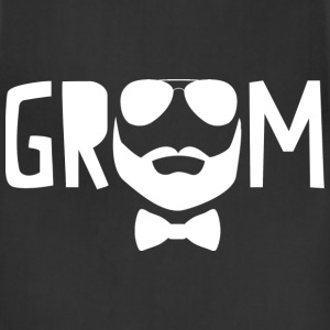 Bearded Groom T-Shirts - Adjustable Apron