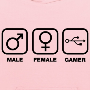 Gamer Gender T-Shirts - Kids' Hoodie