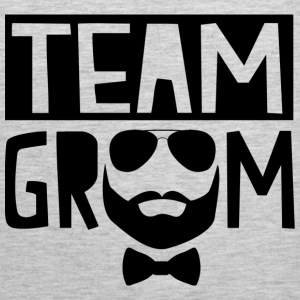 Team Groom T-Shirts - Men's Premium Tank