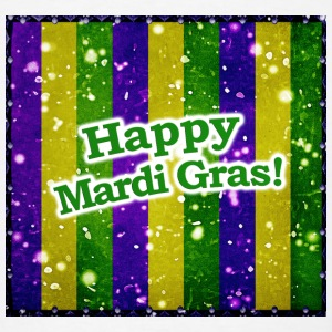 Happy Mardi Gras - Men's T-Shirt