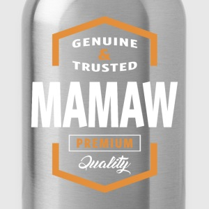 Genuine Mamaw Tees - Water Bottle