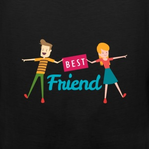 Best Friend - Best Friend - Men's Premium Tank