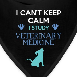 Veterinary Medicine - I can't keep calm I study Ve - Bandana