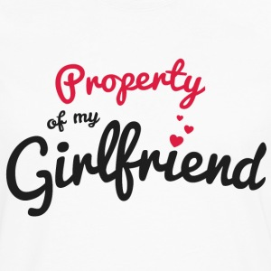Propriety of my girlfirend T-Shirts - Men's Premium Long Sleeve T-Shirt