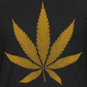 Marijuana Leaf - Men's Premium Long Sleeve T-Shirt
