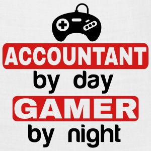 ACCOUNTANT BY DAY GAMER BY NIGHT T-Shirts - Bandana