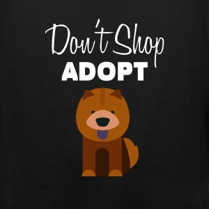 Pet Adoption - Don't shop adopt - Men's Premium Tank