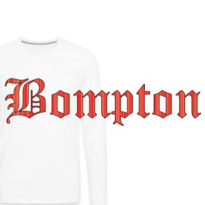 Bompton red Caps - Men's Premium Long Sleeve T-Shirt