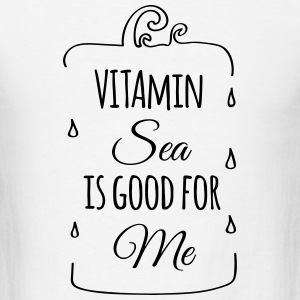 Vitamin sea is good for me ocean beach holiday C Tanks - Men's T-Shirt