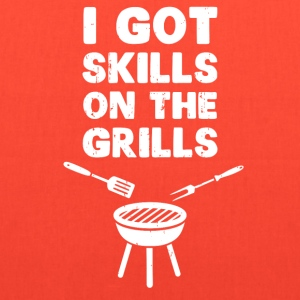 I Got Skills on the Grills Cookout BBQ T-Shirts - Tote Bag